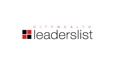 Ranked on CityWealth's 2018 Leader's List
