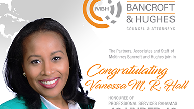 McKinney Bancroft and Hughes congratulates Vanessa M. R. Hall!