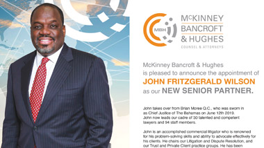 John F. Wilson: New Senior Partner